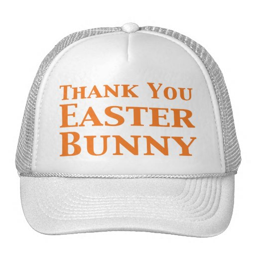 thank you easter bunny gifts hat