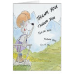 Thank You Echo - Funny Message Greeting Cards