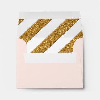 Thank You Envelopes Script Forever Love Glitter