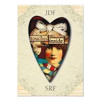 Thank You, etc. - SRF 4.5x6.25 Paper Invitation Card