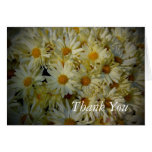 Thank you - Fall Flower greeting card