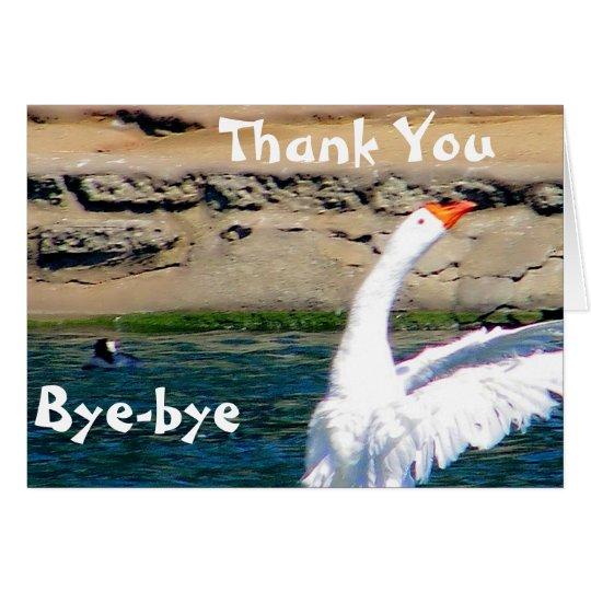 Thank You/ Farewell_Card Card