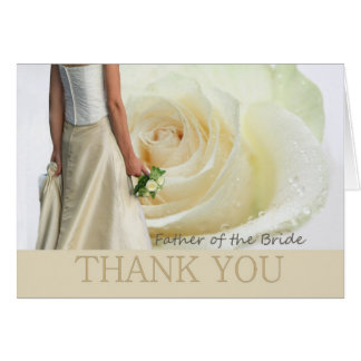 Thank You Father of the Bride Card