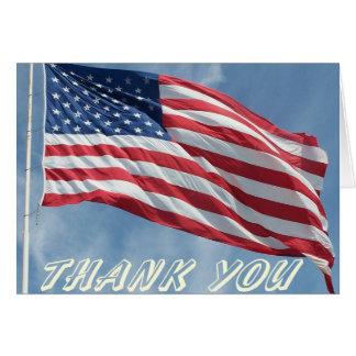 Thank You Flag Card