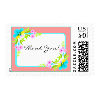 Thank You Floral Flowers Stamp Stamps Expressions