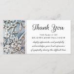 "Thank You Floral Simplicity Sympathy Card<br><div class=""desc"">Thank You Floral Simplicity Sympathy Card  Art &amp; Design by Julie Alvarez</div>"