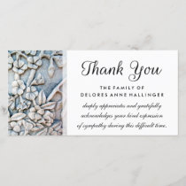 Thank You Floral Simplicity Sympathy Card