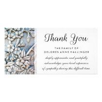 Thank You Floral Simplicity Sympathy Card