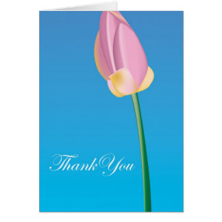 Thank You - Flower Card