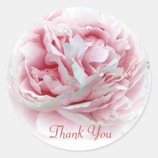 Thank You Flower Envelope Seals