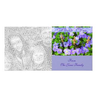 thank you flower garden card