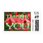 Thank You Flower Postage Stamp