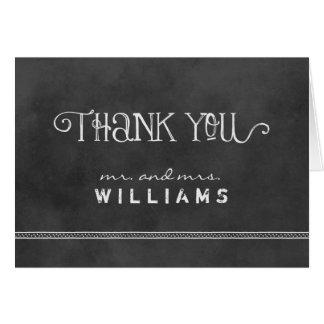 Thank You Folded Cards | Chalkboard Charm