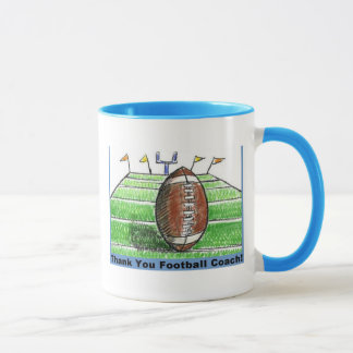 Thank you football coach mug
