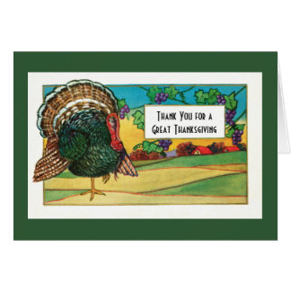 Thank You for a Great Thanksgiving Day Card