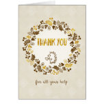 Thank You for All Your Help - Pretty Little Nature Card