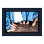 "Thank You For Being My Bridesmaid Card 5"" X 7"" Invitation Card"