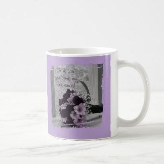 Thank You for being my Bridesmaid Gift Coffee Mug