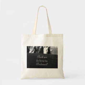 """""""Thank you for Being My Bridesmaid"""" Gift Tote Bag"""