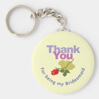 Thank You for being my Bridesmaid Keychain