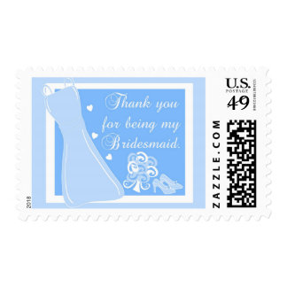 """""""Thank you for being my Bridesmaid"""" Postage"""
