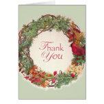 THANK YOU FOR CHRISTMAS GIFT CARD