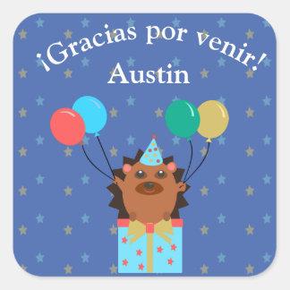 """""""Thank You for Coming/Gracias por Venir"""" Sticker"""