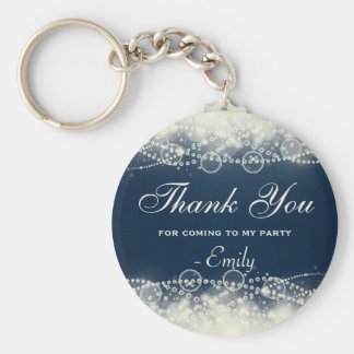 Thank You for Coming to my Party Basic Round Button Keychain