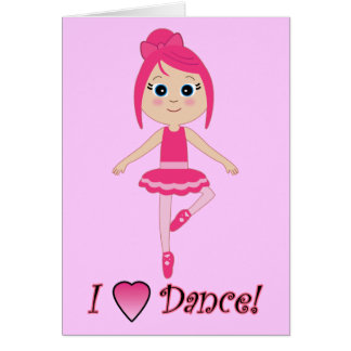 Thank You for Coming to See Me Dance Greeting Card