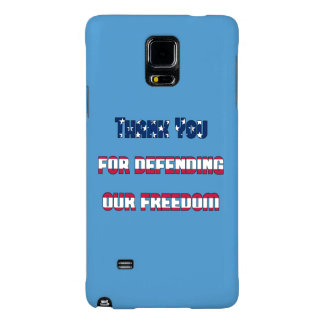 Thank You For Defending Our Freedom Galaxy Note 4 Case