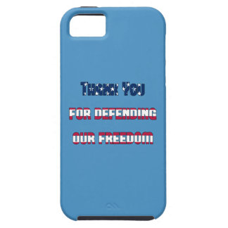 Thank You For Defending Our Freedom iPhone SE/5/5s Case