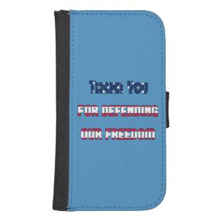 Thank You For Defending Our Freedom Phone Wallet Cases