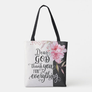 Thank You for Everything All Over Print Bag