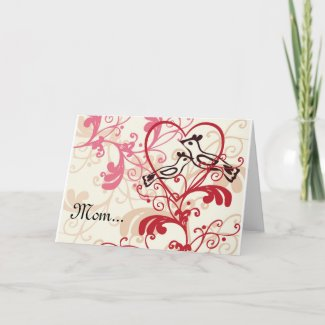 Thank you for everything Mother's day Card card