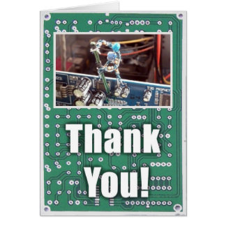 Thank You For Fixing My Computer Card (Wasn't Me)