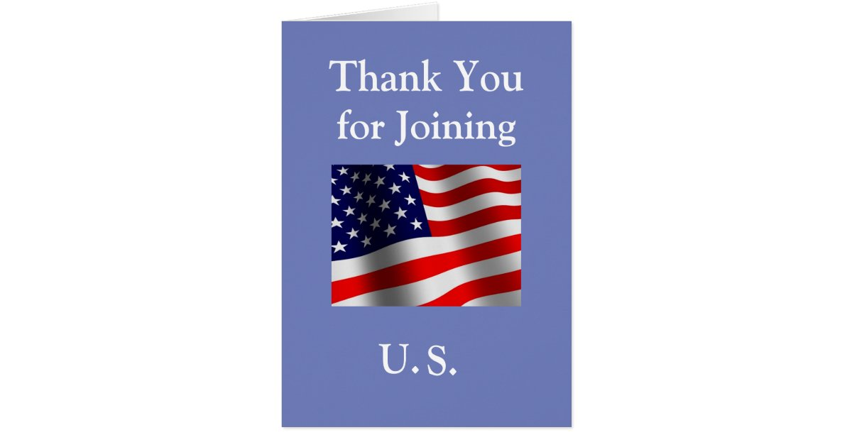 u0026quot thank you for joining us u0026quot  new american citizen card