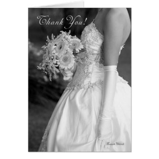 Thank you for making our wedding day so special greeting card