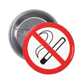 Thank You for Not Smoking Button