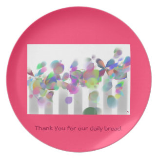 Thank You for our daily bread Plate
