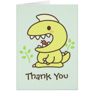 Thank You for Protecting Me! Card