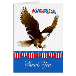 Thank You, For Service To Country Greeting Card