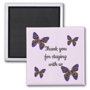 Thank You For Staying with Us House Rental Welcome Magnet
