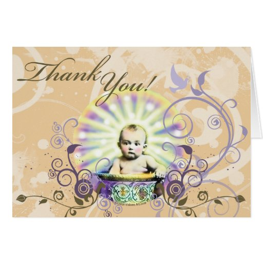 Baby Gift Thank You Note : Thank you for the baby gift stationery note card zazzle