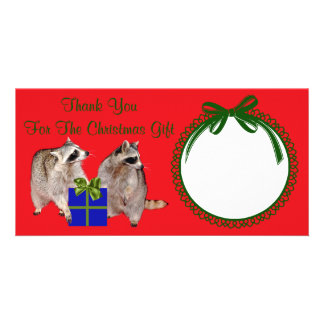 Thank you for the Christmas Gift Photo Card