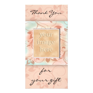 Thank you for the gift -brown card