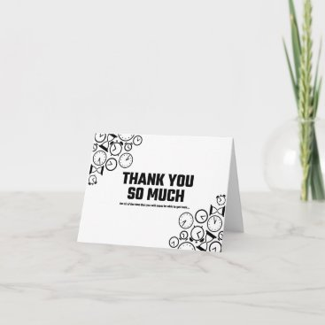 Thank You for the Time You'll Never Get Back Card