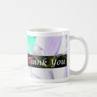 Thank You For Touching My Life Coffee Mug by Janz