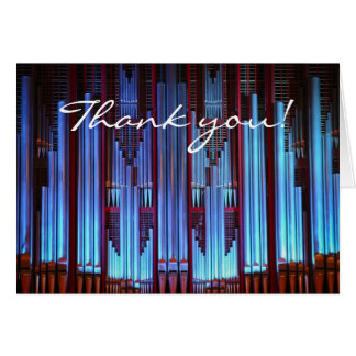 thank you for your beautiful music card