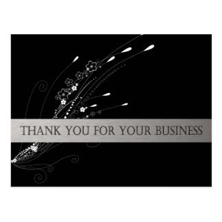 Thank You For Your Business Post Card