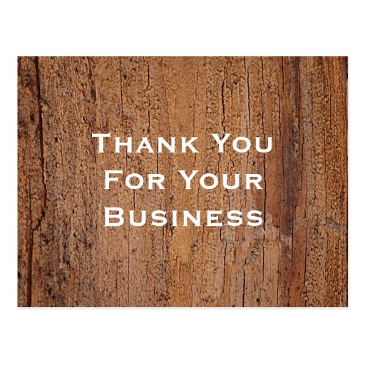 Thank You For Your Business Basket: Thank You For Your Business Postcards & Postcard Template